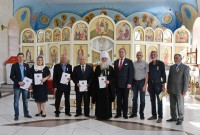 2020-08-20 An Intercessory Prayers Service for the Head of the House of Romanoff and Investiture Ceremony is held in the Altai Territory (Krai)