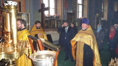 2020-11-14 The Tsesarevich and Grand Duke George of Russia makes a working visit to Kostroma